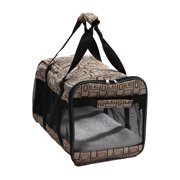 Pet Life Airline Approved Ultra-Comfort Designer Dog Carrier