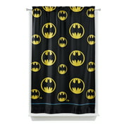 Batman Kids Lights Off Room Darkening Curtain Panel, 63-inch L