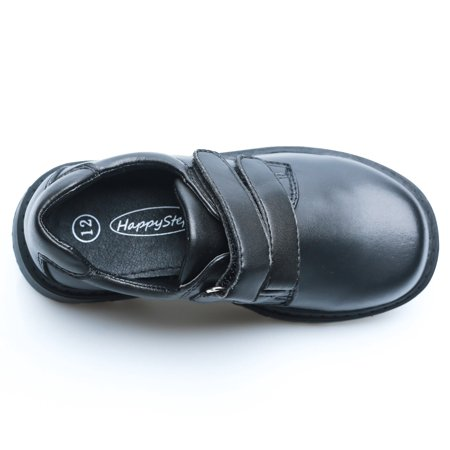 Happystep Toddler Little Boy School Uniform Dress Black Shoes, 1 Pair - image 7 of 9