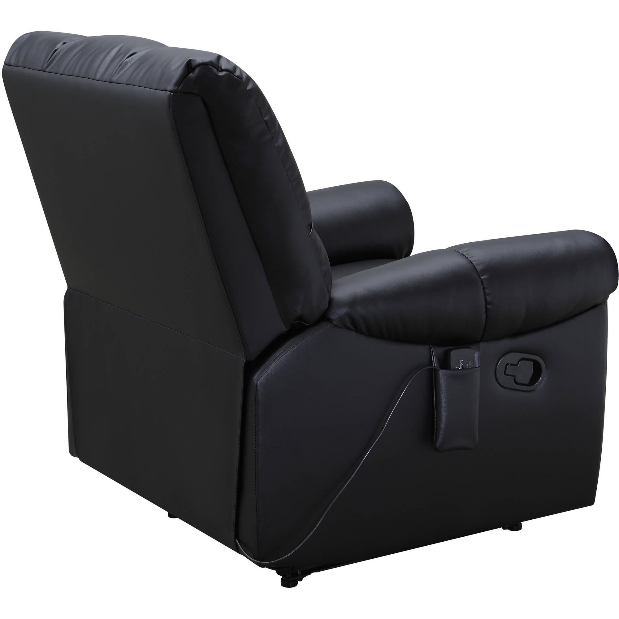 Serta Massage Recliner Black Walmart