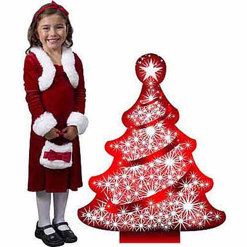 Christmas Tree Standee