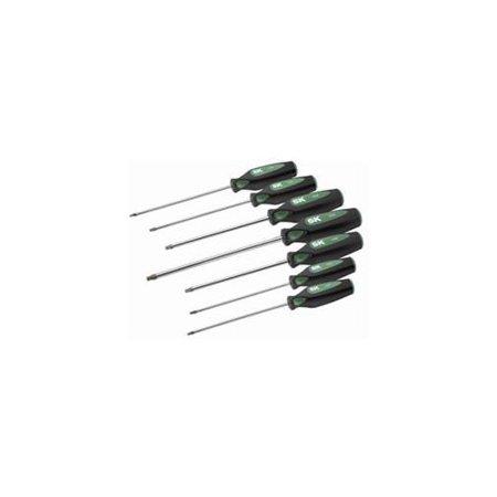 sk hand tool llc 86333 7 pc torx cushiongrip screwdriver set. Black Bedroom Furniture Sets. Home Design Ideas
