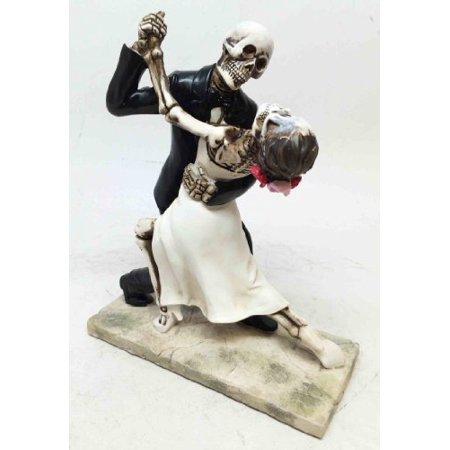 LOVE NEVER DIES BRIDE AND GROOM WEDDING DANCE STATUE SCULPTURE ETERNAL -