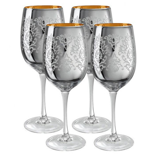 Artland Brocade Goblet (Set of 4)
