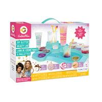 GoldieBlox 5-in-1 DIY Glitter Beauty Spa Lab STEM Kit