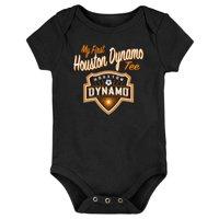 Houston Dynamo Newborn & Infant My New First Bodysuit - Black