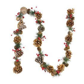 Artificial Holly Swag Garland