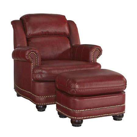 Darby Home Co Fawnridge Arm Chair And Ottoman Walmart Com