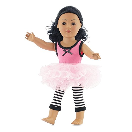 Have Fun Outfit with Tutu Skirt | 18 Inch Doll Clothes Fits American Girl Dolls | Includes... by Emily Rose Doll Clothes