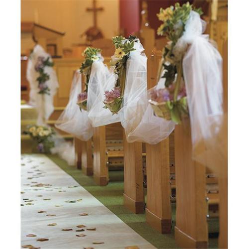 Weddingstar 1895-08 9   x 25 yards Tulle Roll- White