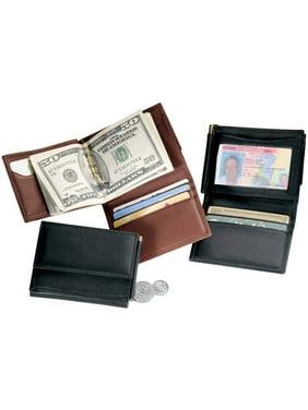 721b73c9eee0 Product Image Men's Money Clip Bifold Wallet in Genuine Leather