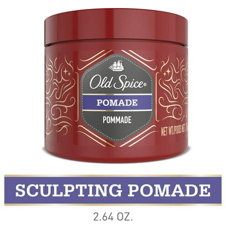 Old Spice Men's Hair Styling Pomade, Medium Hold Matte Finish, 2.64 Oz