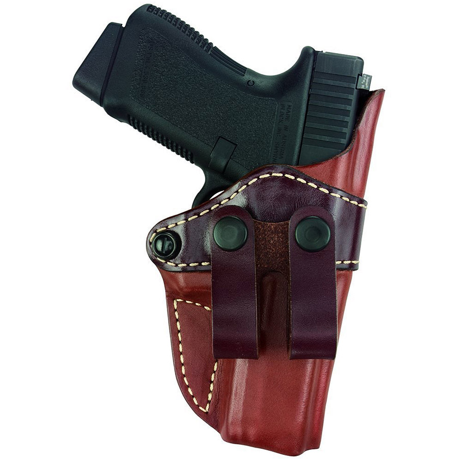 Gould and Goodrich 810-G30LH Gold Line Inside Pants Holster, Left-Hand, Chestnut Brown