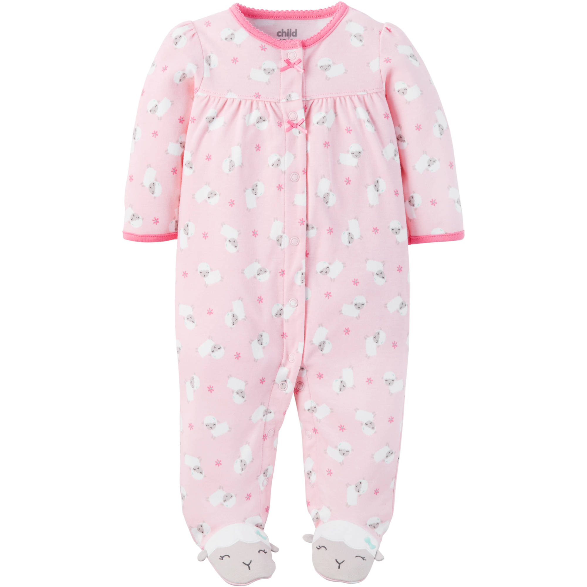 Child of Mine By Carters Newborn Baby Girl Sleep And Play