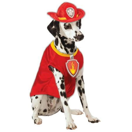Paw Patrol Marshall The Fire Dog Pet -