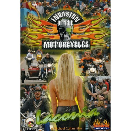 Invasion Of The Motorcycles: Laconia Biker Rally (Full Frame) by GOLDHIL MULTIMEDIA
