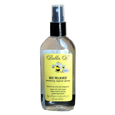 Bee Relieved Soothing Vaginal Spray, 4.5 oz Bottle