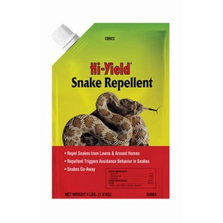 Snake Repellent, 4 lb, Repel Snakes From Lawns & Around Homes By Voluntary Purchasing Group 4 Lb Snake Repellent