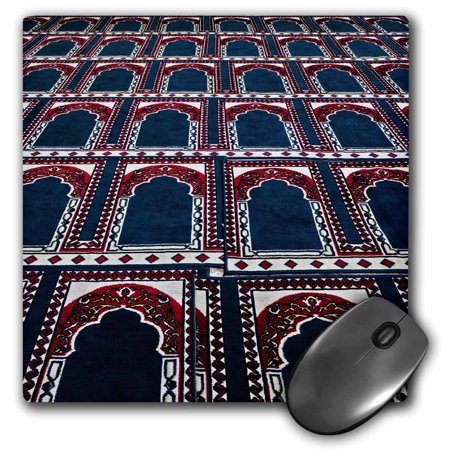 3dRose Pattern of prayer rugs, Islamic mosque, Cairo, Egypt-AF14 AJE0030 - Adam Jones, Mouse Pad, 8 by 8 inches