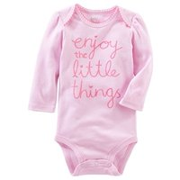 ba6d343f37 Product Image OshKosh Baby Girls  Enjoy The Little Things Bodysuit
