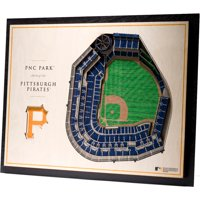 Pittsburgh Pirates 17'' x 13'' 5-Layer 3D StadiumViews Wall Art
