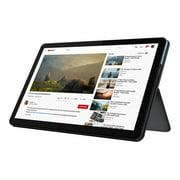 "Lenovo IdeaPad Duet Chromebook ZA6F - With detachable keyboard - Helio P60T 2 GHz - Chrome OS - 4 GB RAM - 128 GB eMMC - 10.1"" IPS touchscreen 1920 x 1200 - Mali-G72 MP3 - Wi-Fi, Bluetooth - ice blue, iron gray - kbd: US"