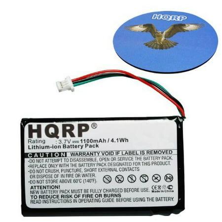 HQRP Battery for GARMIN AF37AF41EC32T 36100035-01 361-00056-00 Nuvi 65 65LM 65LMT, Nuvi 1390 1390T 1390LMT 3610005600 2VR270234 010-01115-01 361-00056-05 GPS Navigator + HQRP Coaster