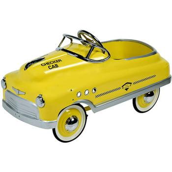 Dexton Taxi Comet Sedan Pedal Riding Toy (Yellow)