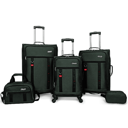 Utility 5 Piece Spinner Luggage Set Dual Sport Motorcycle Luggage