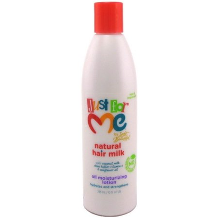 2 Pack - Just for Me! Hair Milk Oil Moisturizing Lotion 10 (Just For Me Soft And Beautiful Texture Softener)
