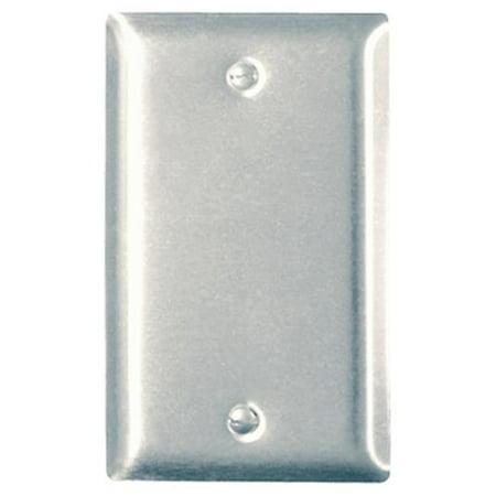 SS13CC25 1 Gang Blank Sierraplex Stainless Steel Wall Plate - image 1 de 1