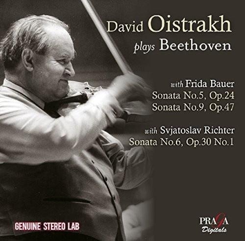 Beethoven / Richter, Sviatoslav / Bauer, Frida - David Oistrakh Plays Beethoven [CD]