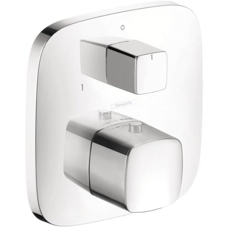 hansgrohe 15771001 Thermostatic Trim with Volume Control in Chrome