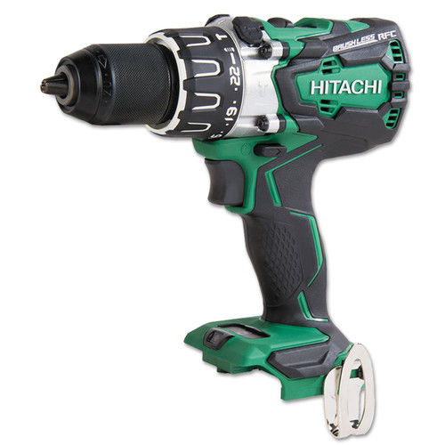 Hitachi DV18DBL2P4 18V Cordless Lithium-Ion 1/2 in. Hamme...