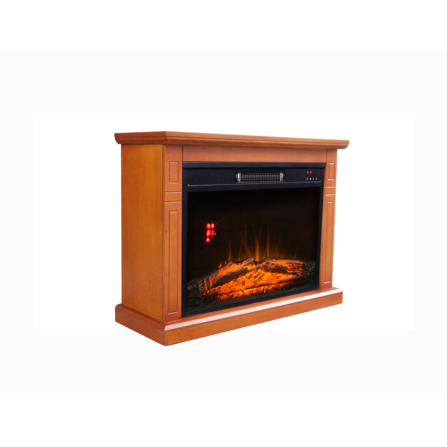 "Decor Flame Electric Fireplace with 29"" Mantle"