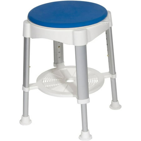 Drive Medical Bath Stool with Padded Rotating Seat - Walmart.com