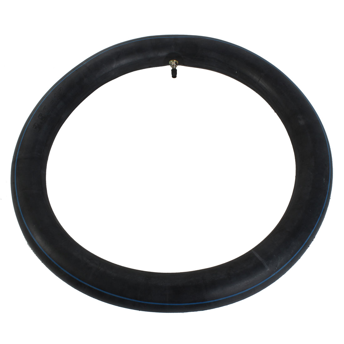 Unique Bargains Motorcycle Motorbike Black Rubber Inner Tire Tube 250-17