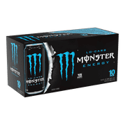 Monster Lo-Carb Energy Drink, 16 Fl. Oz., 10 Count