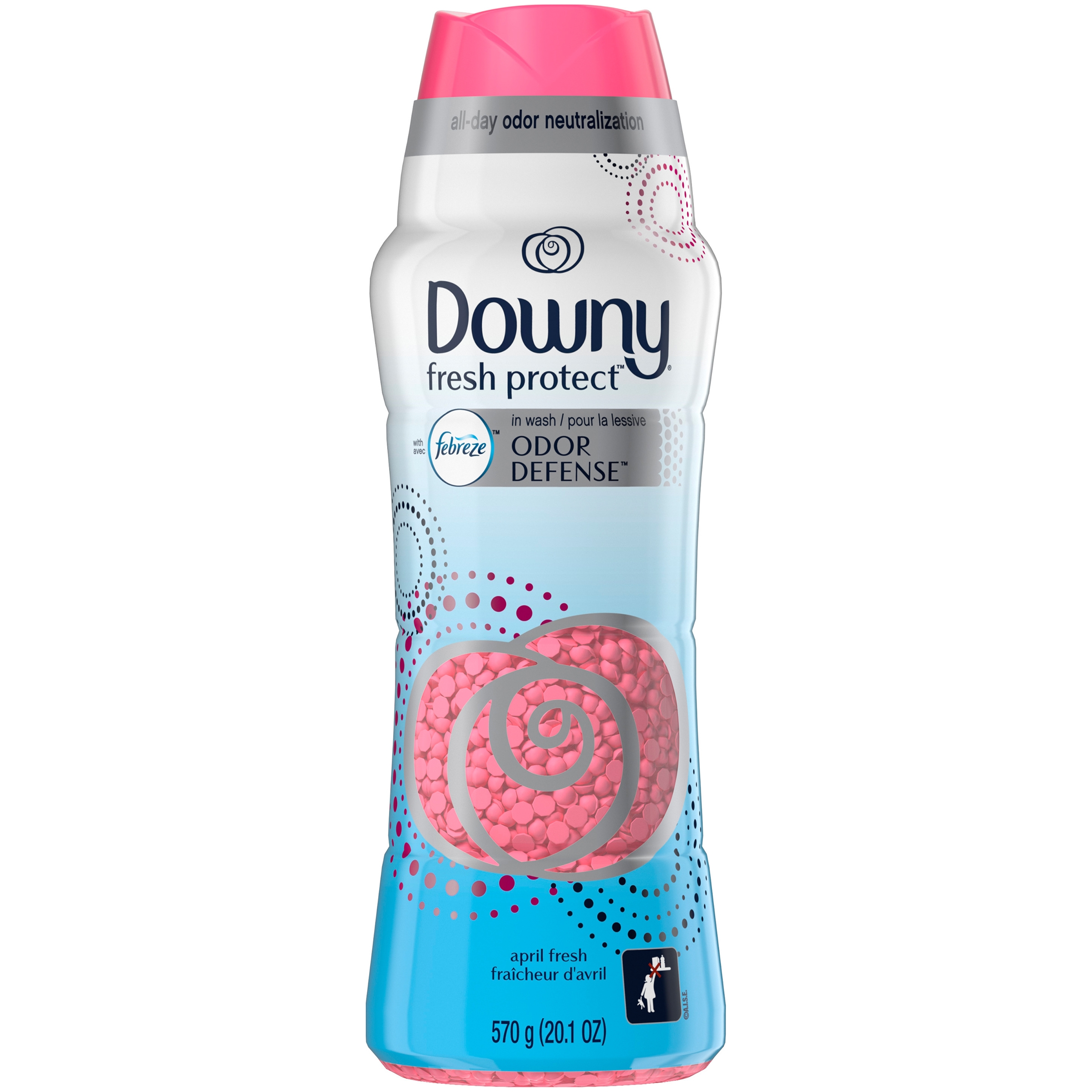 Downy Fresh Protect In-Wash Scent Booster Beads, April Fresh, 42 Loads 20.1 oz