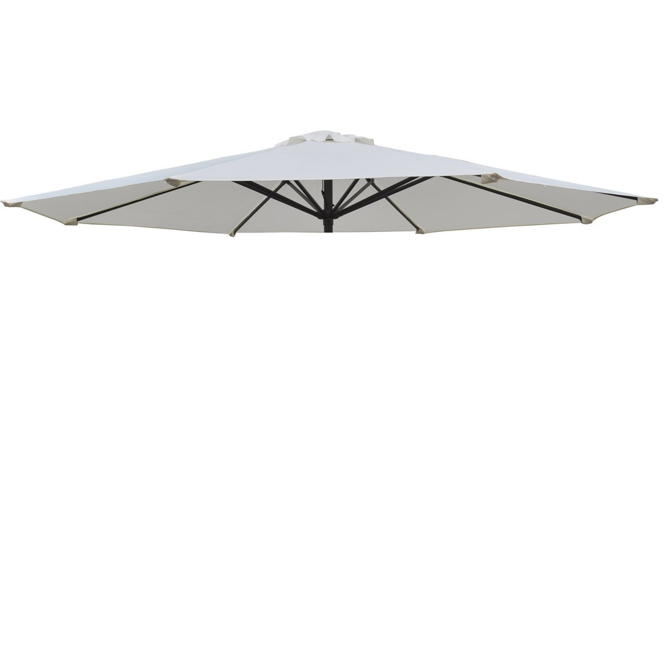 Replacement Patio Umbrella Canopy Cover For 9ft 8 Ribs Umbrella Ecru (CANOPY  ONLY)