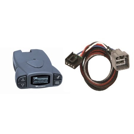 TEKONSHA P3 BRAKE CONTROL + WIRING HARNESS FOR 2010 2011 2012 DODGE RAM 1500 2500 3500. CONTROLLER + PLUG/PLAY WIRE KIT.