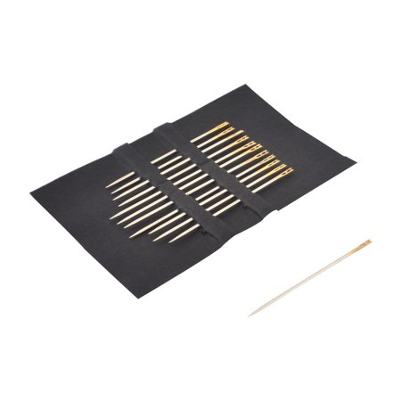 Smooth 0.5 Mm Needlepoint - Home Sewing Machine Knitters Hand Embroidery Metal Threading Needles 12pcs