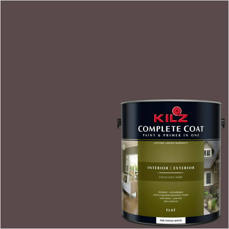 Kilz Complete Coat Interior Exterior Paint Primer In One Lm130 Cattail