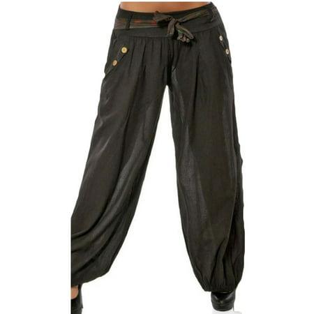 Women's Baggy Harem Palazzo Casual Sport Yoga Wide Leg long Pants Crazee Wear Baggy Pants