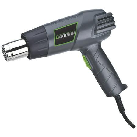 Genesis 1500W 12.5 Amp Heat Gun with Accessory Tips