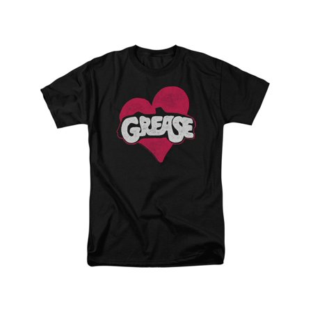 Grease Movie Heart Adult T-Shirt Tee