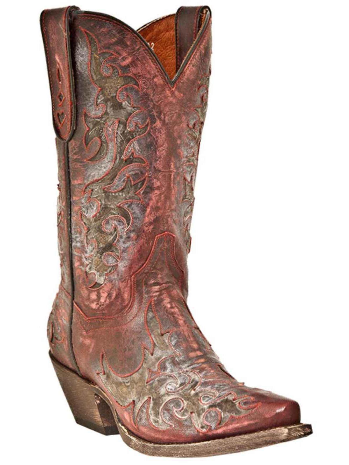 """Dan Post Men's 13"""" Red Sanded Zephyr Snip Western Boot, DPP4744 by DAN POST"""