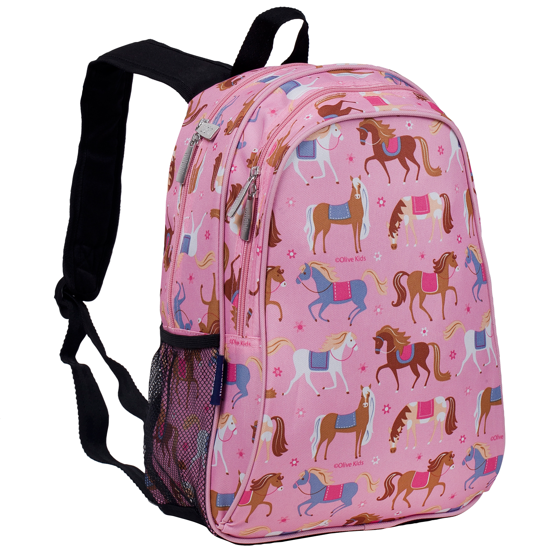 Olive Kids Horses 15 Inch Specialty Backpack by Wildkin