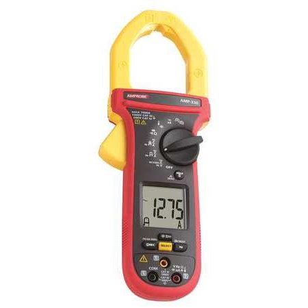 AMPROBE AMP-330 Clamp Meter,1000A,2in Cap,With