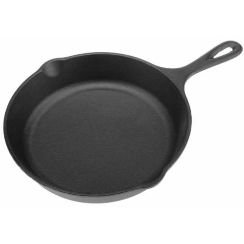 """World Famous Sports Cast Iron Skillet, 12"""" by World Famous Sports"""